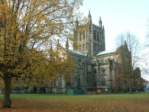 Hereford cathedral, England