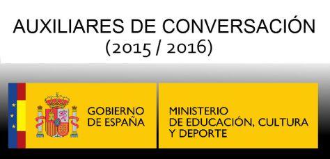 Auxiliares de conversación 2015