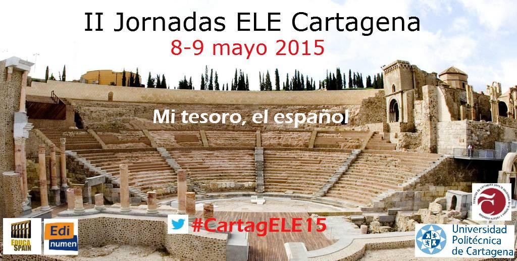 II Jornadas ELE Cartagena (8-9 mayo)