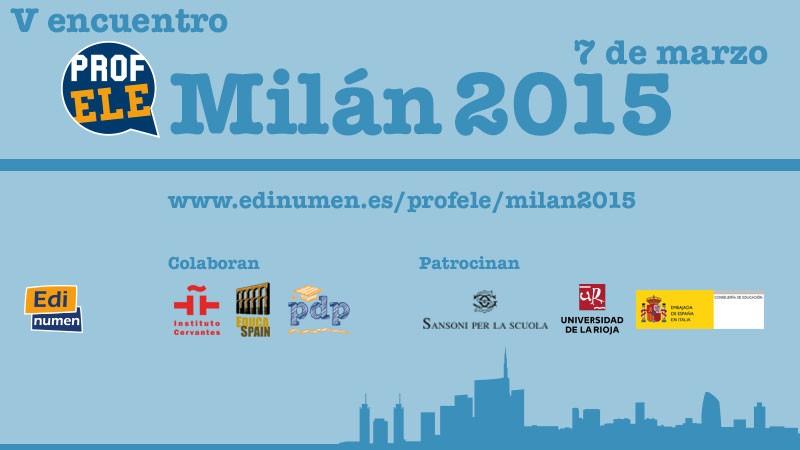 V Encuentro ProfELE Milán (7 marzo, Italia)