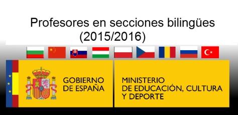 Secciones bilingües 2015-2016